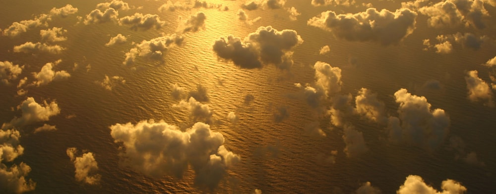 Cumulus at sunrise over the Atlantic, near the Canary Islands © Antonio Martín (Member 11,271)