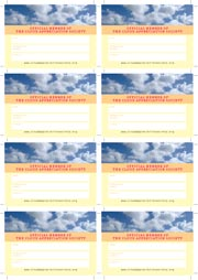 CAS Calling Card Sheet pdf