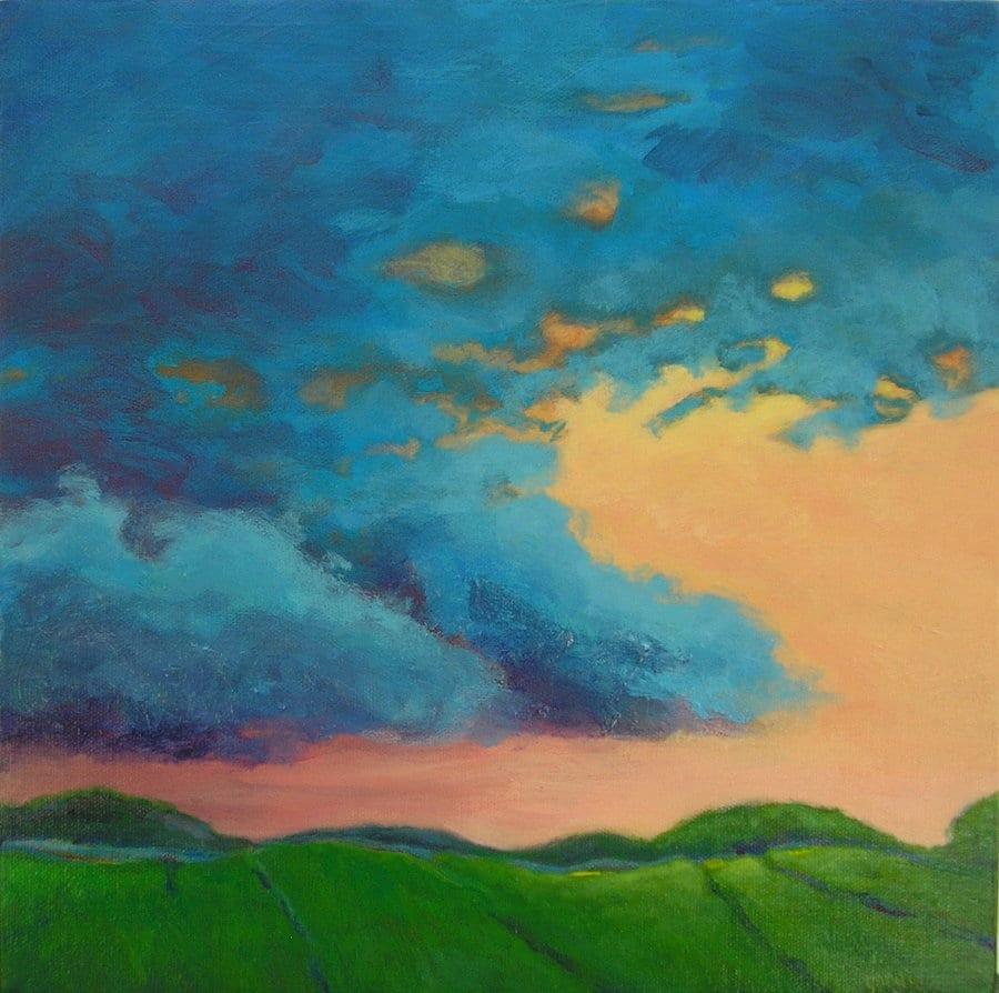 Storm Brewing 12 x 12 ©  Sandra Yocum