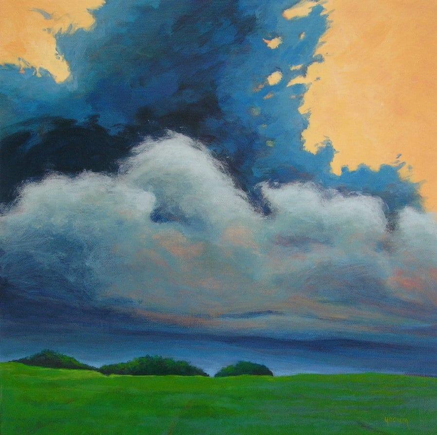 Storm Brewing II 12 x 12 ©  Sandra Yocum