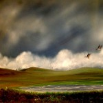 More Rain on its Way, oil, © Ian Peill, Herefordshire, UK