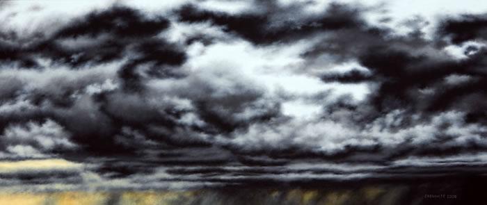 Gray Series # 16, oil, © Donald Cronkhite, Detroit, Michigan, USA