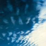 "River Clouds, acrylic on canvas, 68"" x 42"" © Lisa Grossman, Lawrence, Kansas, USA"