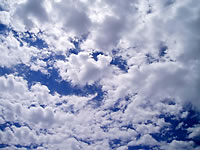 Learn all about clouds at a special weather day