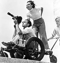 German film director Leni Riefenstahl