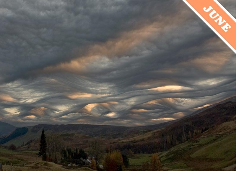Cloud of the Month - Asperatus