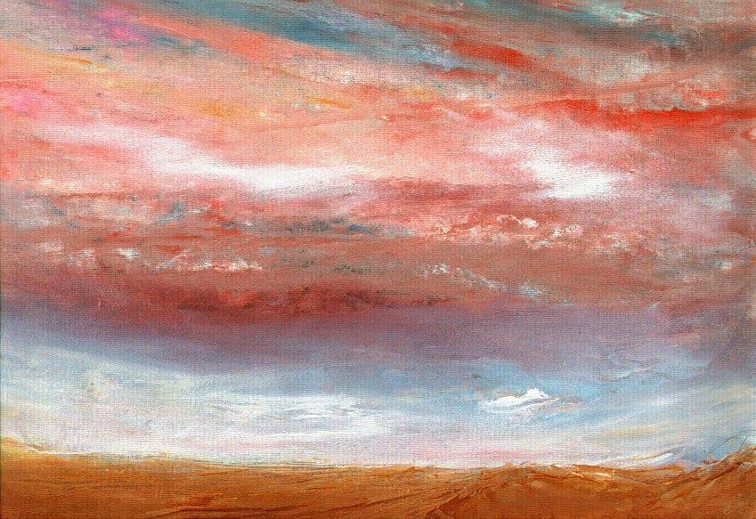 Sky Blue Pink © Gordon Johnson