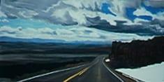 Descending the Bighorns © Nancy Ungar