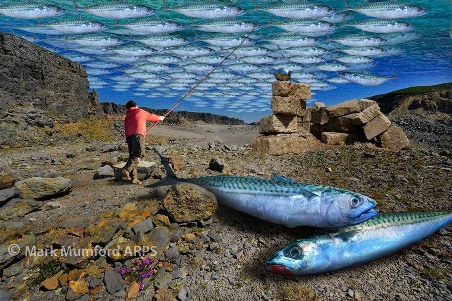Mackerel Sky fisherman © Mark Mumford