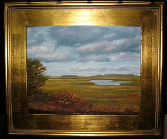 Essexmarsh 1009 framed © Kathleen Bennett