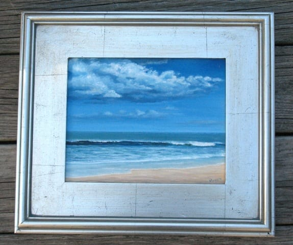 seabrook beach framed © Kathleen Bennett