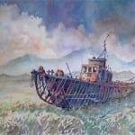 Rusting Out Fishing Boat © Thomas Albano