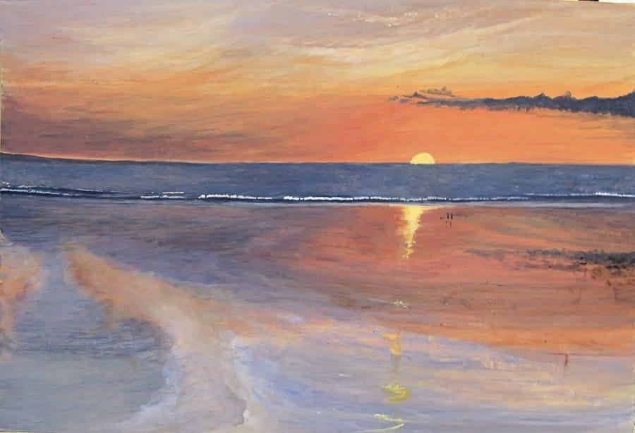 sunset west Somerset © Mark Noble