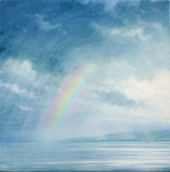 Rainbow Over Kintyre © Derek Hare