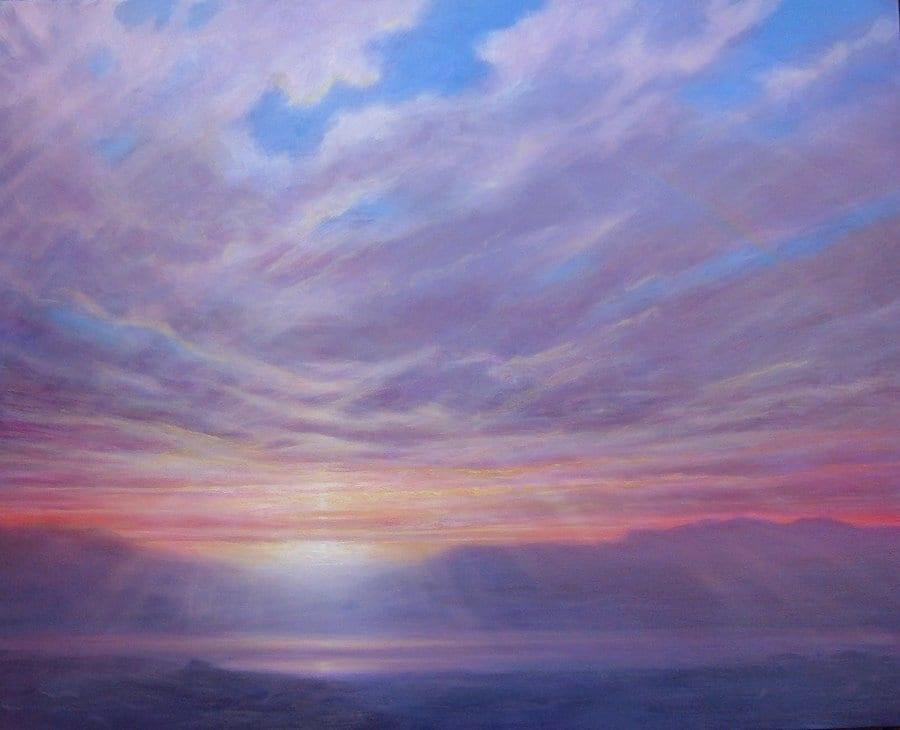 Sunrise After The Storm © Derek Hare