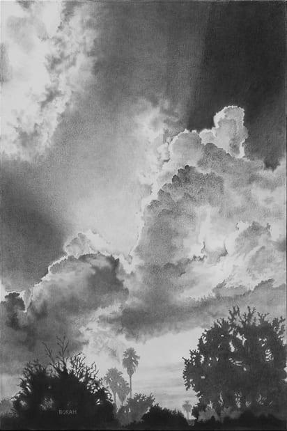 Cumulonimbus 2 © Celeste Borah