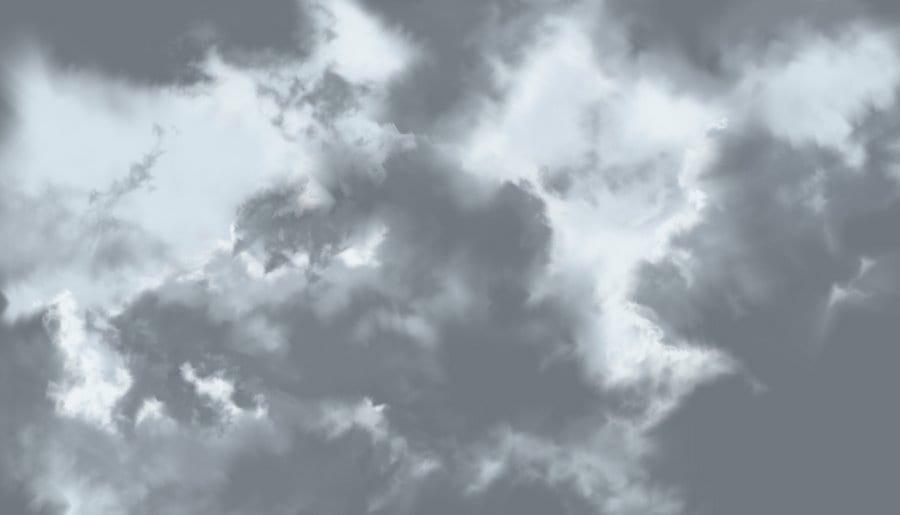 Cumulus fractus © Megan Bednarz