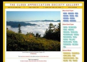 The Cloud Appreciation Society Photo Gallery
