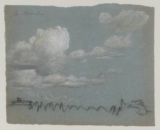 Landscape with Billowing Clouds - Thomas Kerrich