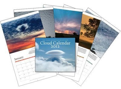 Cloud Apprecaition Society Cloud Calendar, 2012