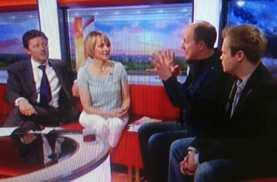 The Cloud Appreciation Society on BBC Breakfast
