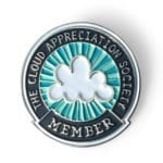 CAS Enamel Membership Badge