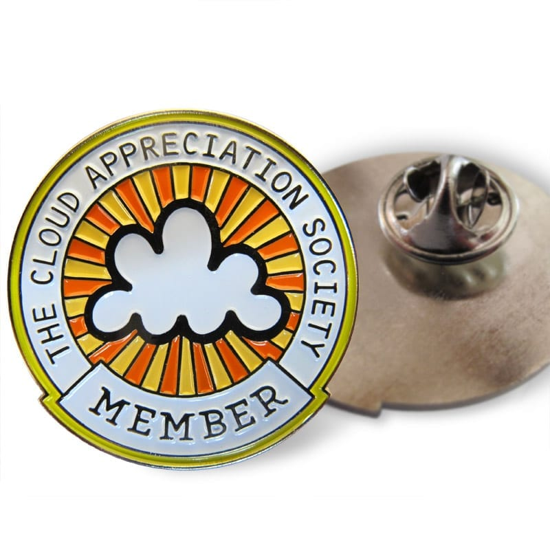 CAS Enamel Member Badge (detail)