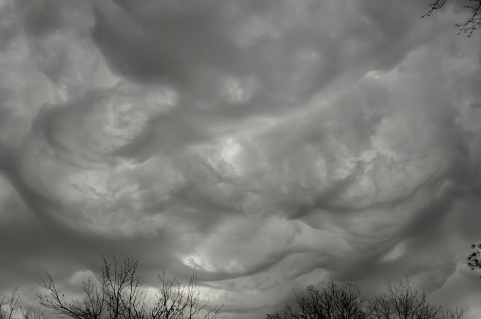 Asperatus over Fort Worth, Texas, US © Krista English