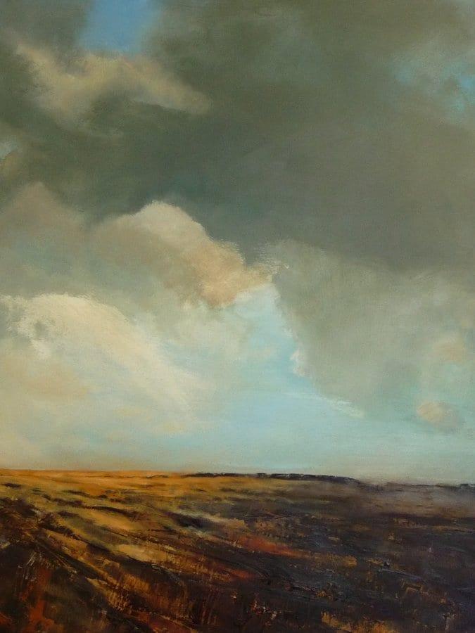 Cloud Over Bury's Hill © Susan Delahaye