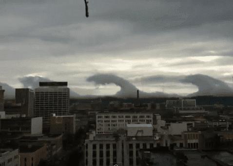 Kelvin-Helmholtz sweep over Birmingham