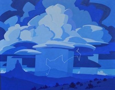BLUE MONSOON © Paul Kinslow