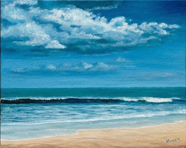 Seabrook Beach © Kathleen Bennett