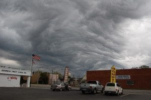 Asperatus over Evans County, Georgia, US. Photo by LeeAnna Tatum.