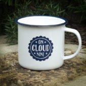 On Cloud Nine Enamel Mug