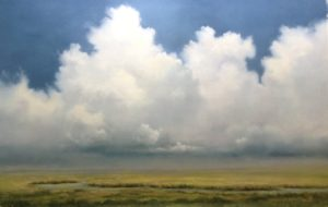 Incoming Storm on Cape Cod, Oil on Linen, 14 x 22 by Materese Roche