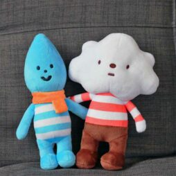 Little Raindrop and Mr Cloud bundle