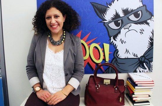 Megan Hess, creator of the No Joe Schmo site about surprising careers.