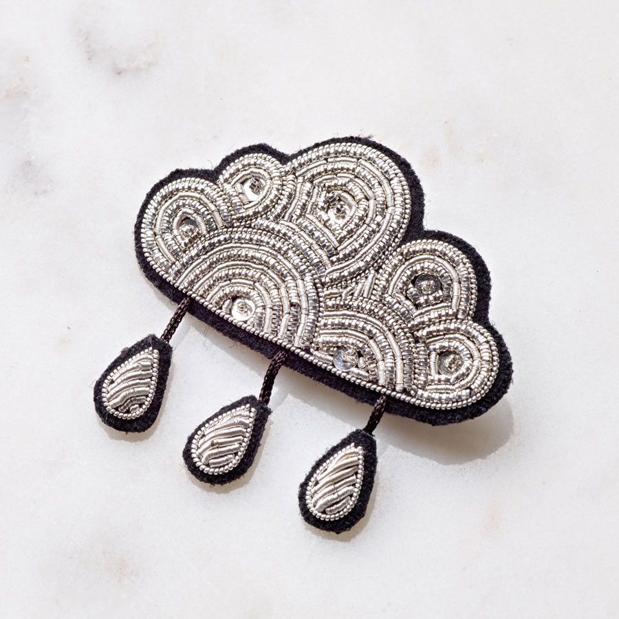 paul jewellery brooch sarz products embroidery