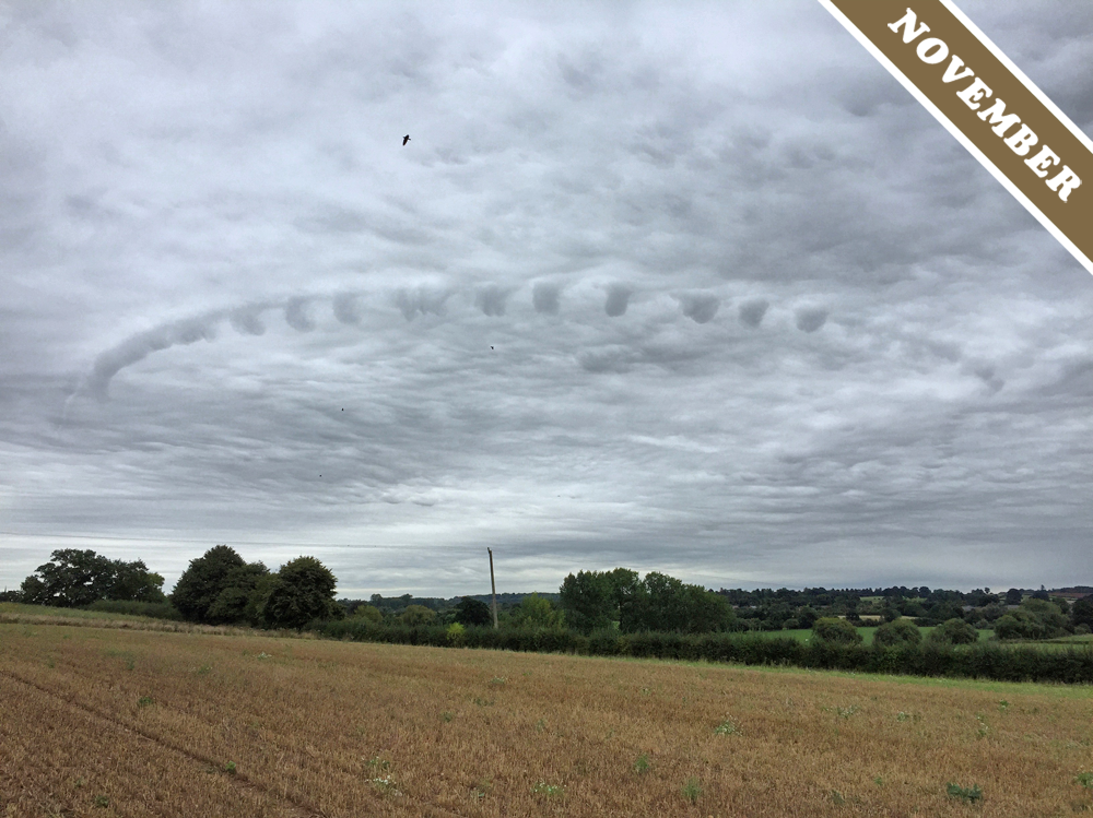 Cloud of the Month - November 2016
