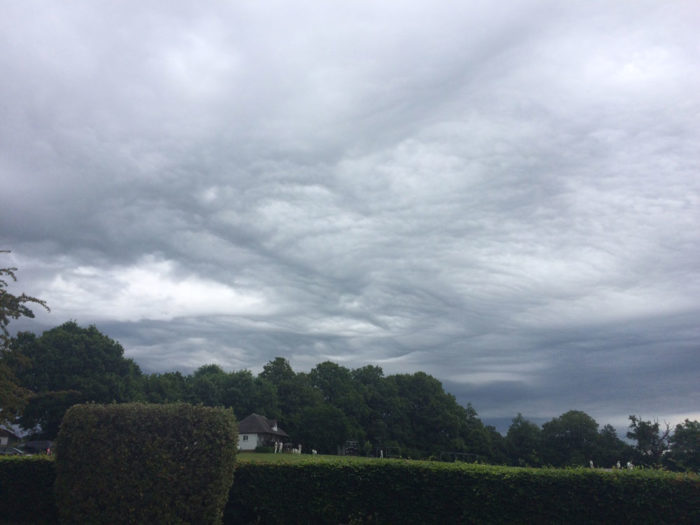 An asperitas formation over Bolney, Sussex, UK.
