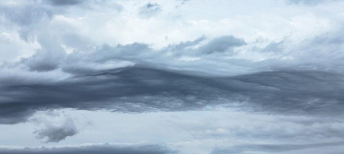 A wave of asperitas over Mesa, Arizona, US.