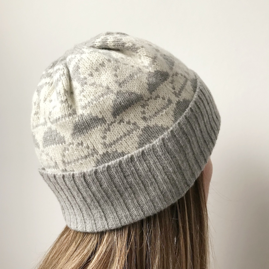 d586da078a30e Lambswool Cloud Beanie (Pale Grey and Ecru) – Cloud Appreciation Society
