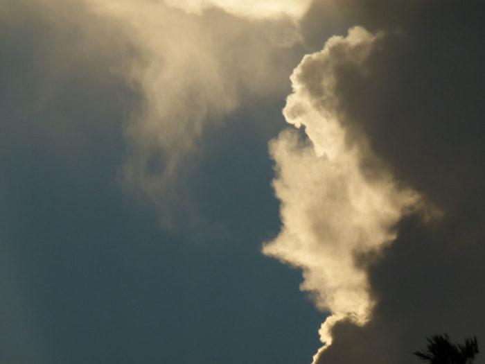 A face in the clouds over Santa Catarina, Brazil.