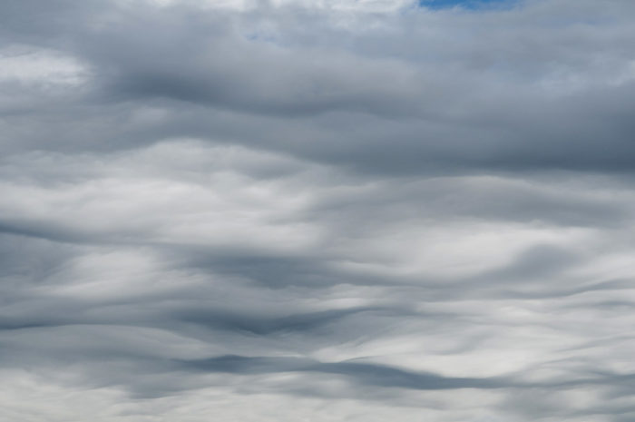 An asperitas formation over Duisburg, Germany.