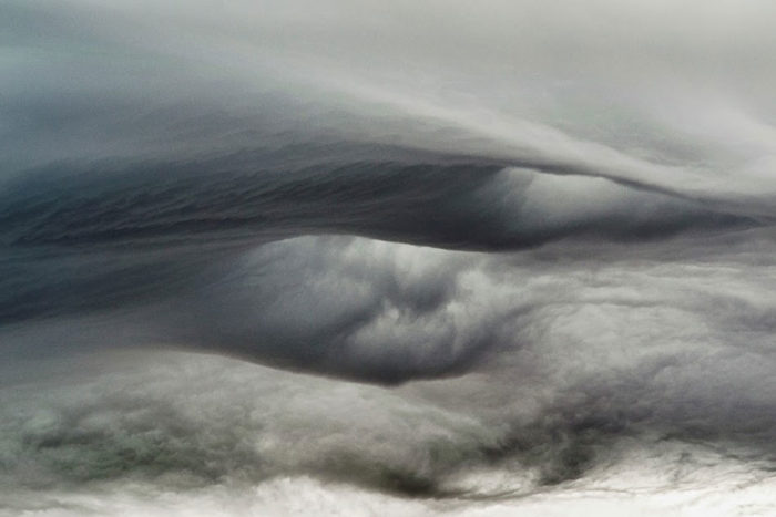 An asperitas formation over the west of Ireland.