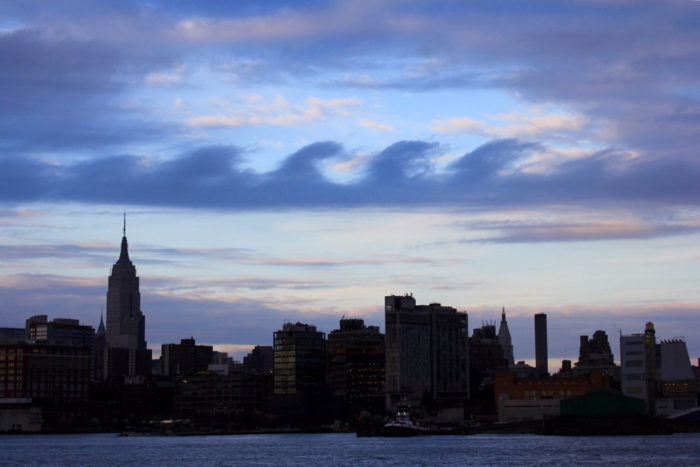 A Kelvin-Helmholtz formation over New York, US.