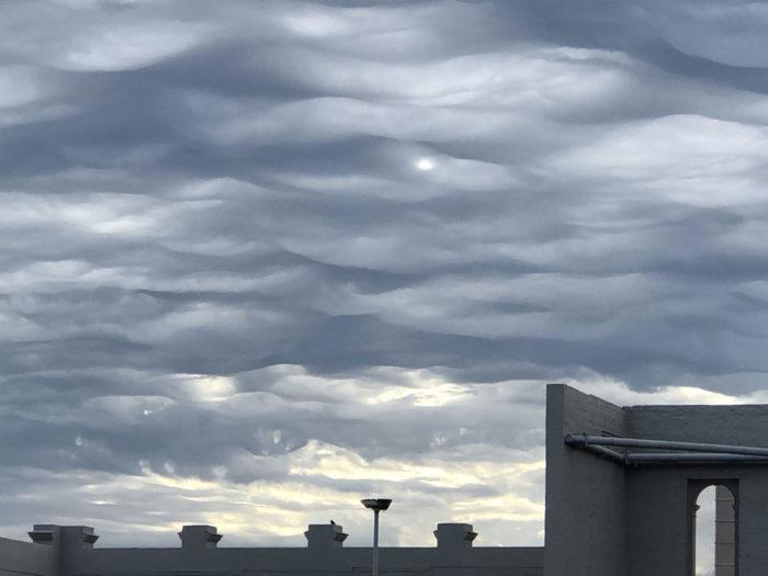 An asperitas formation over Melbourne, Australia.