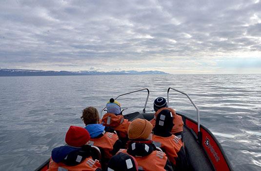 RIB boat, Svalbard