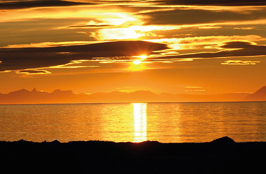 Midnight Sun, Svalbard