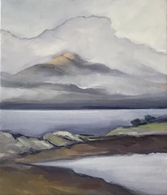Cloud covering Beinn Sgritheall © Sherry Skye